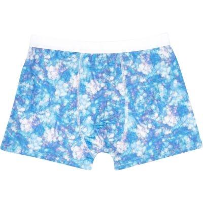 River Island Blue Tie Print Boxer Shorts Shop With Sally Sally Lyndley Fashion Stylist