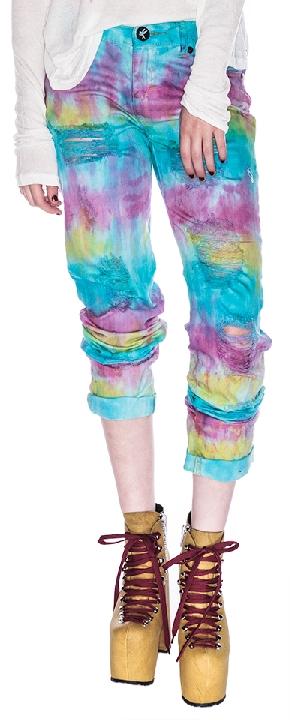 One Teaspoon Tie Dye Baggies Pants Sorbet 24 Shop With Sally Sally Lyndley Fashion Stylist