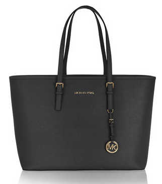 MICHAEL MICHAEL KORS Jet Set Travel textured-leather tote Shop With Sally Sally Lyndley Fashion Stylist