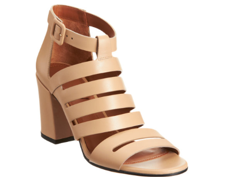 GIVENCHY Cutout Block Heel Sandal Shop With Sally Sally Lyndley Fashion Stylist