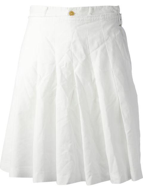 COMME DES GARÇONS COMME DES GARÇONS bermuda cut pleated skirt Lyndley Trends Sally Lyndley Fashion Stylist