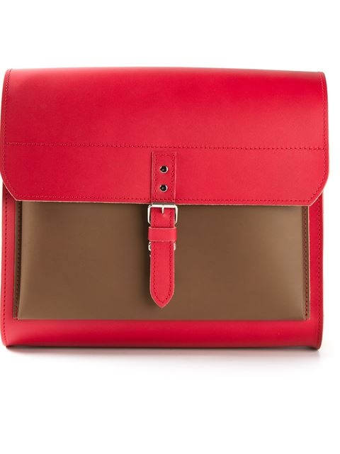 COMME DES GARÇONS COMME DES GARÇONS front flap shoulder bag Lyndley Trends Sally Lyndley Fashion Stylist