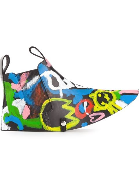 COMME DES GARÇONS painted overshoes Lyndley Trends Sally Lyndley Fashion Stylist