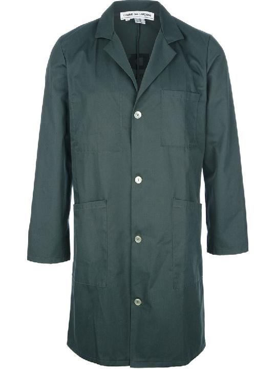 Comme Des Garçons Manteau Droit À Logo Lyndley Trends Sally Lyndley Fashion Stylist