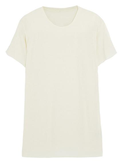 THE ELDER STATESMAN Favorite cashmere and silk-blend T-shirt Shop With Sally Sally Lyndley Fashion Stylist