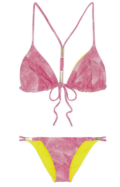 SHIMMI Tiga reversible triangle bikini Shop With Sally Sally Lyndley Fashion Stylist