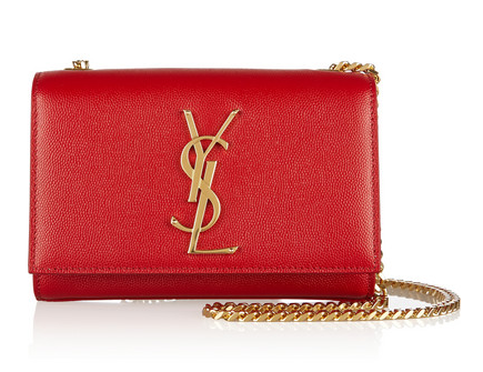 SAINT LAURENT Monogramme leather shoulder bag Shop With Sally Sally Lyndley Fashion Stylist