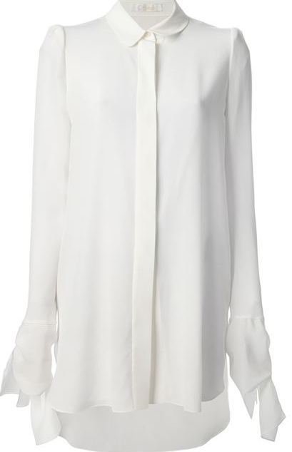 CHLOÉ jabot shirt Shop With Sally Sally Lyndley Fashion Stylist