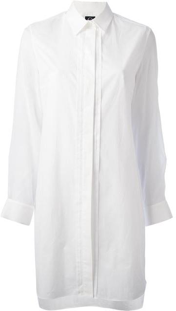 MCQ BY ALEXANDER MCQUEEN oversized shirt Shop With Sally Sally Lyndley Fashion Stylist
