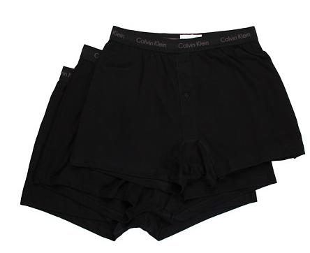 Calvin Klein Underwear Classics Knit Boxer 3-Pack U3040 Shop With Sally Sally Lyndley Fashion Stylist