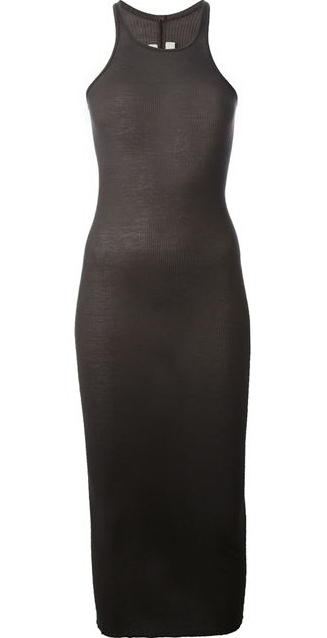 RICK OWENS 'Tank Slip' dress Shop With Sally Sally Lyndley Fashion Stylist