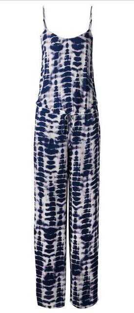 HAUTE HIPPIE tie-dye jumpsuit Shop With Sally Sally Lyndley Fashion Stylist