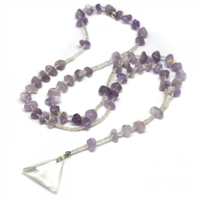 Sacred Amethyst Necklace $105