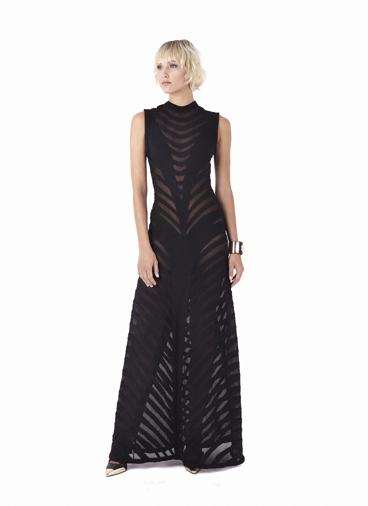 Onyx Long Dress