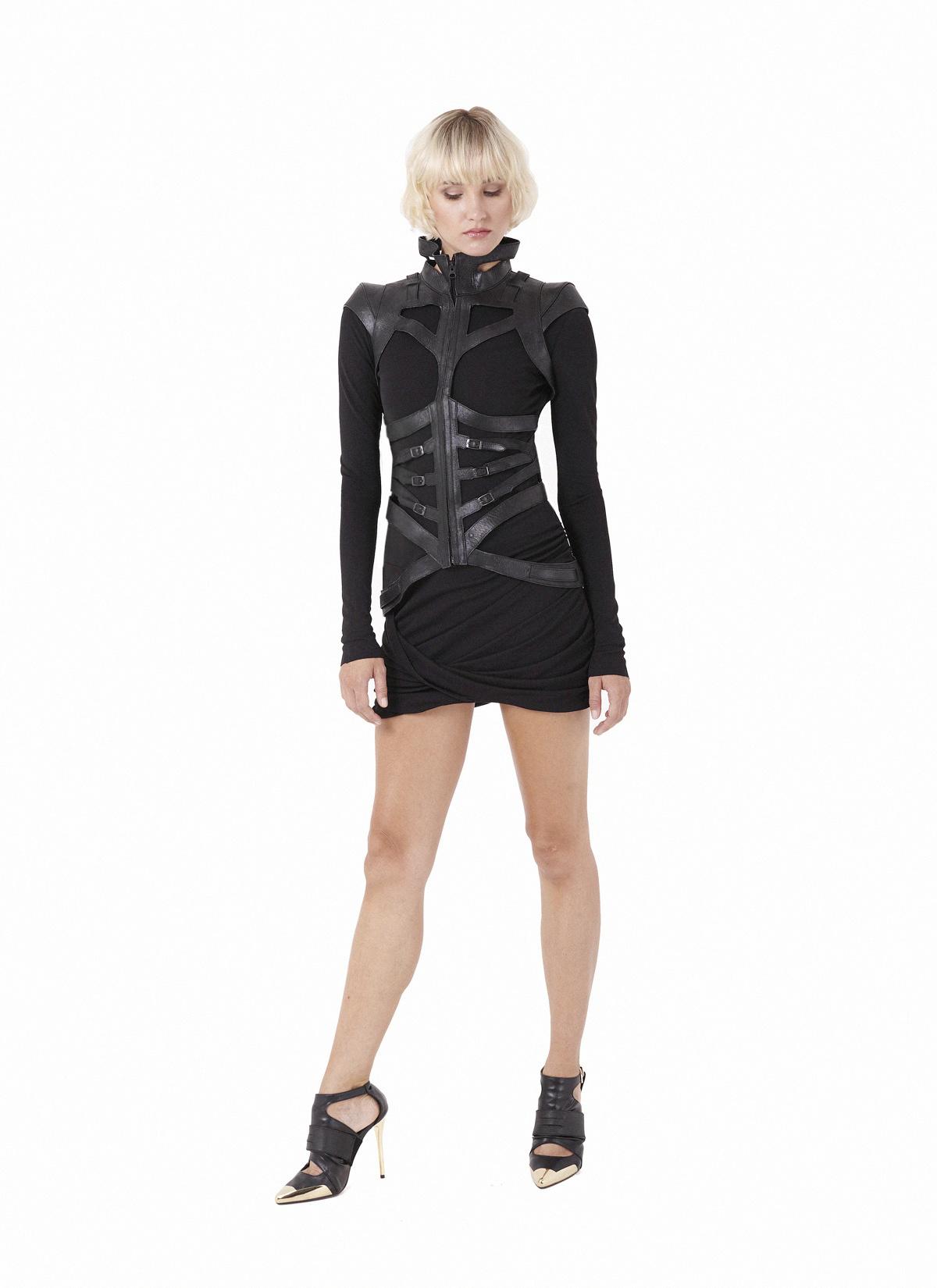 Quartz harness & Scoria dress