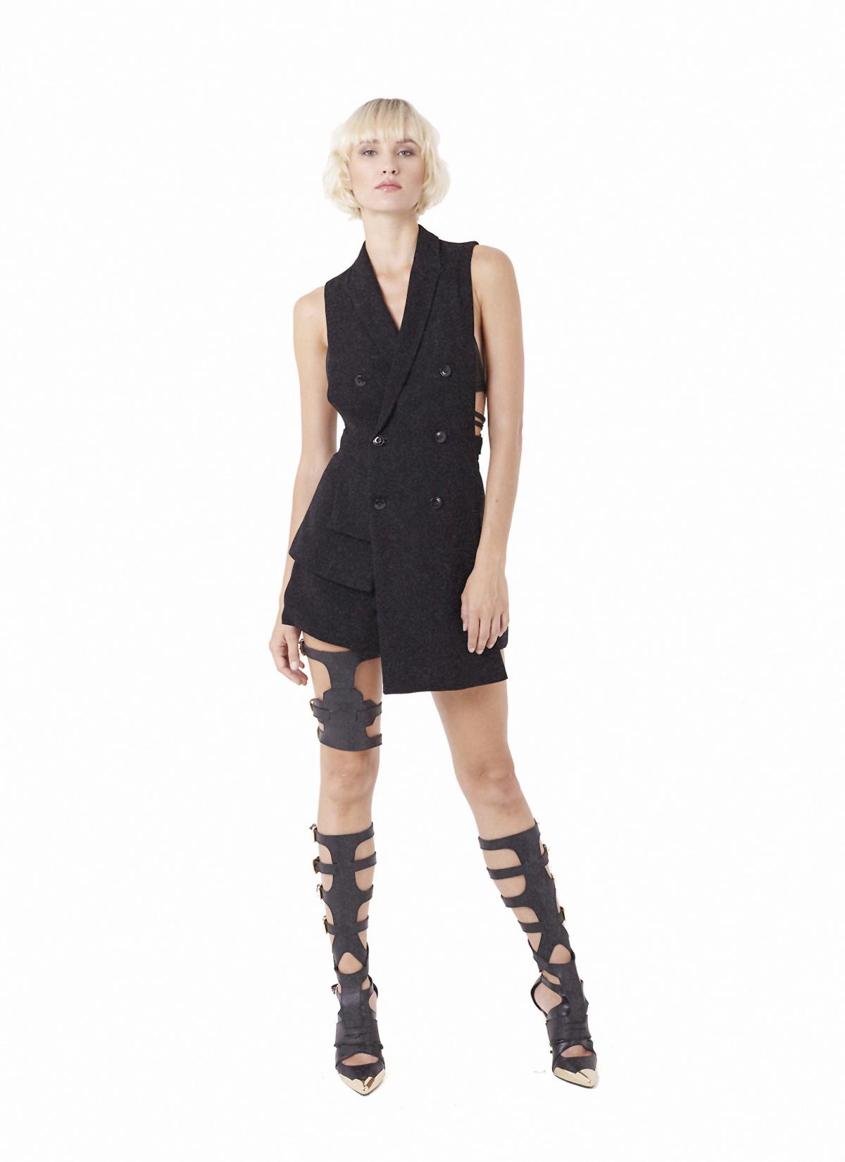 Andesine vest, Syenne shorts & Spar Legpiece