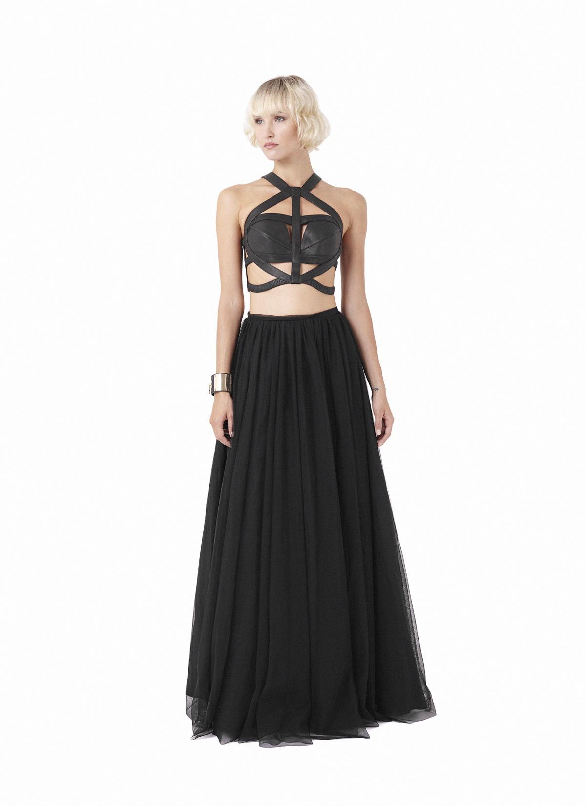 Basalt halter & Hornblende skirt