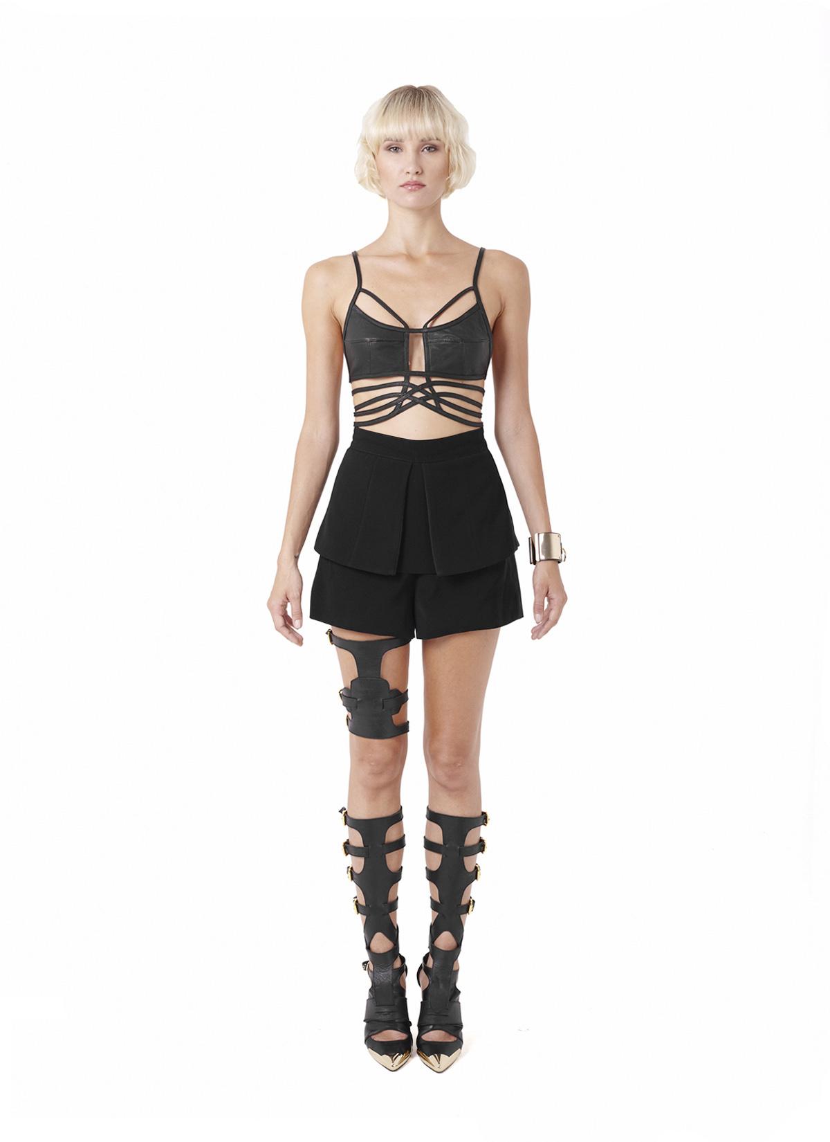 Dyshic top, Syenne shorts & Spar Leg piece