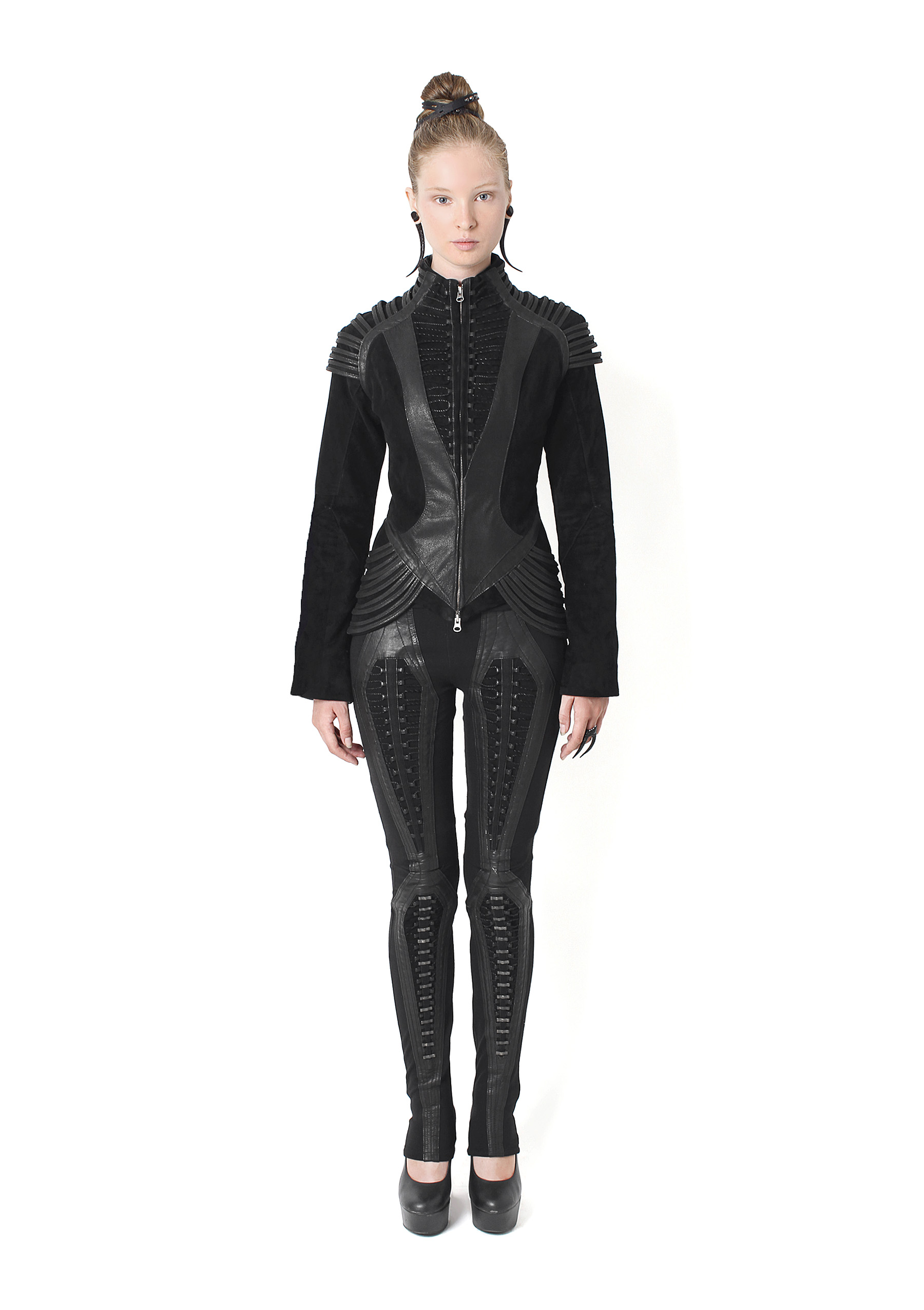 Laced Stihl Jacket, Trane Leggings