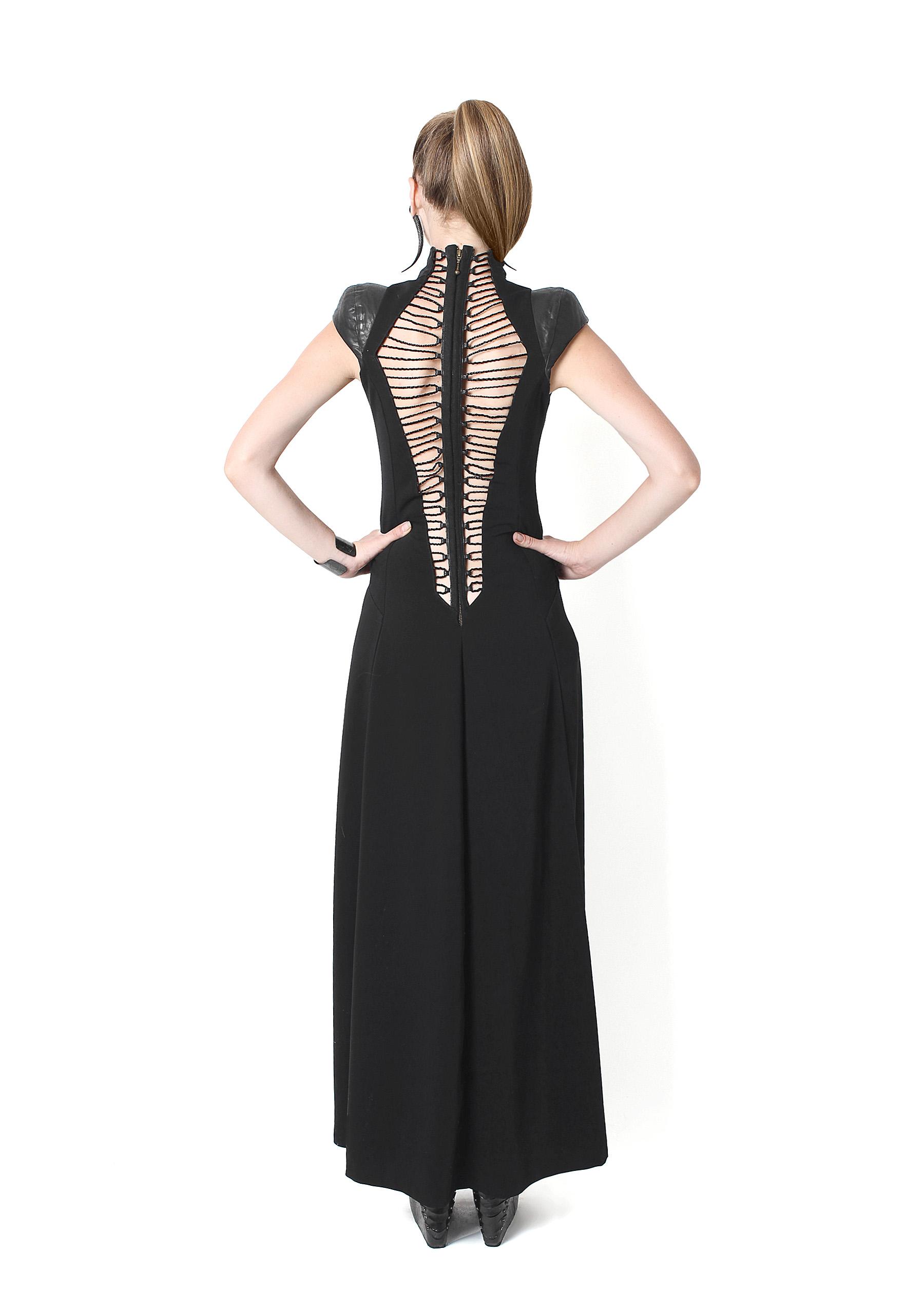 Open Laced Dress