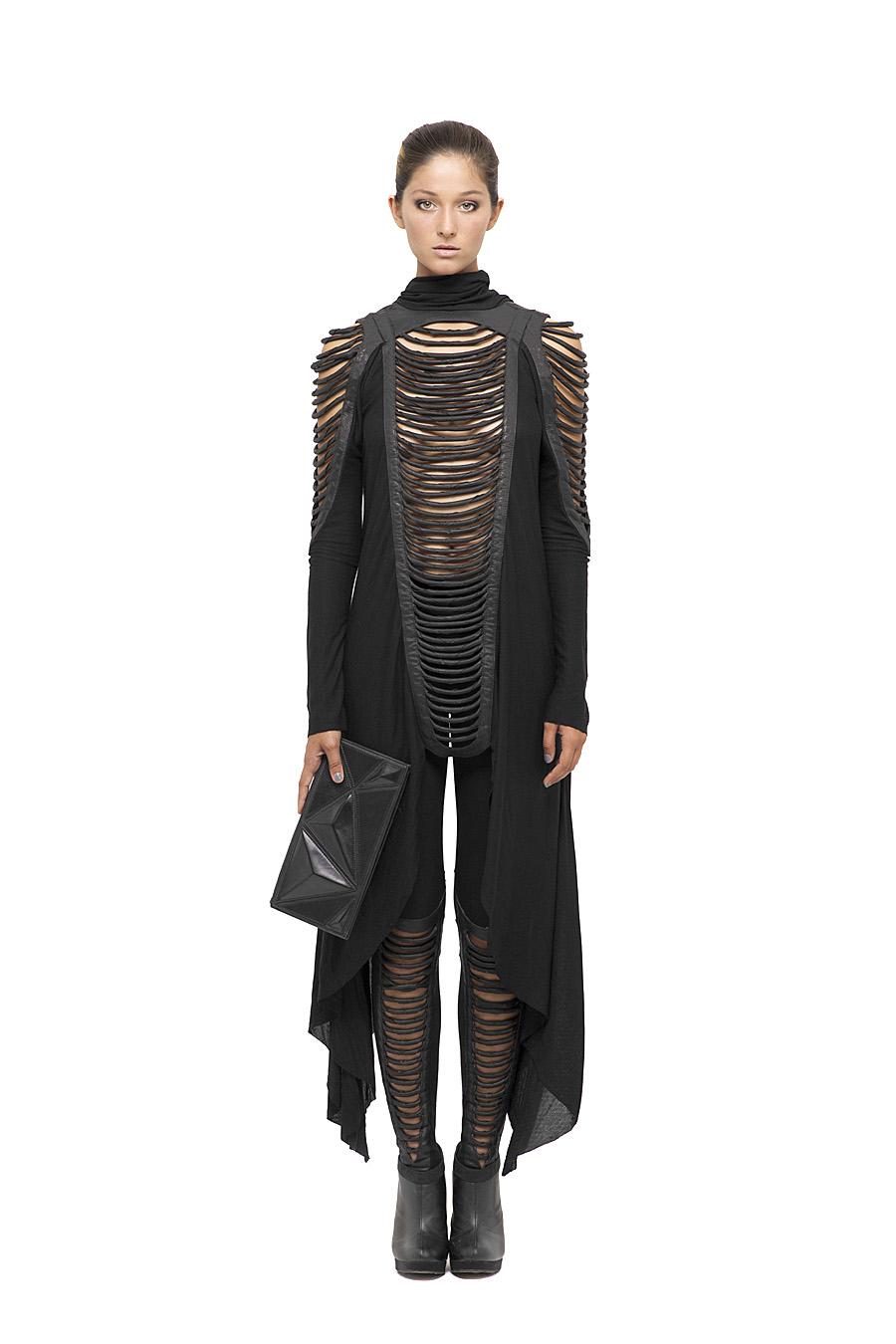 Torza Long Dress, Torza Leggings