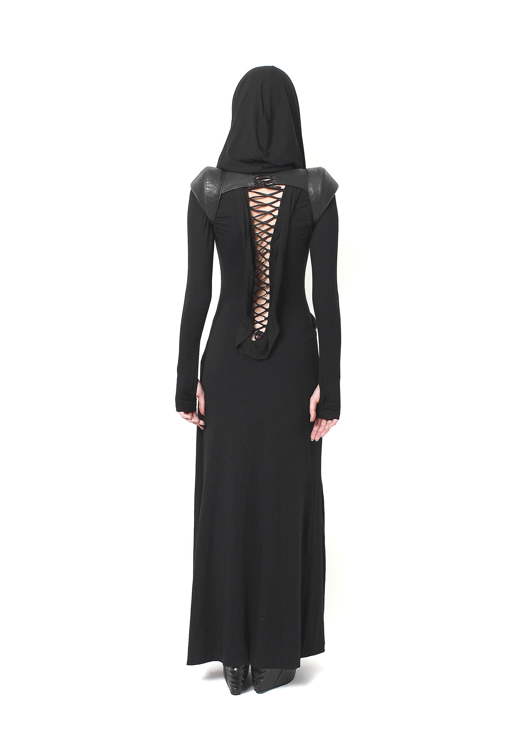 Drape Laced Dress