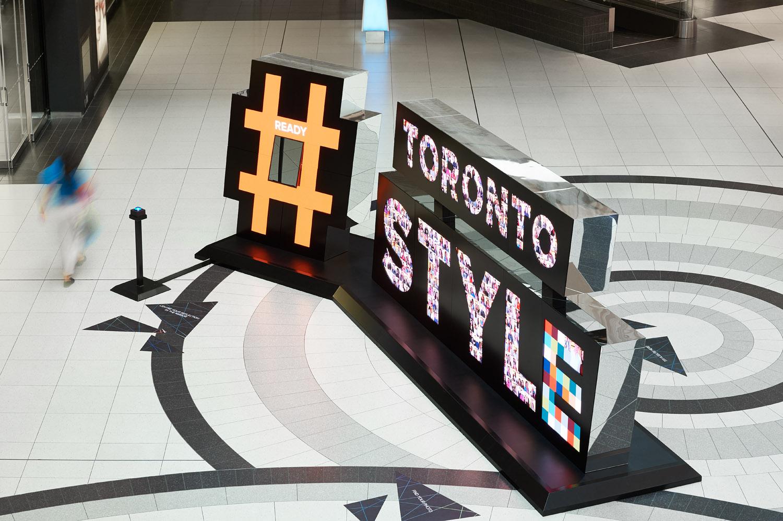 Toronto Style Digital Interactive Sculpture