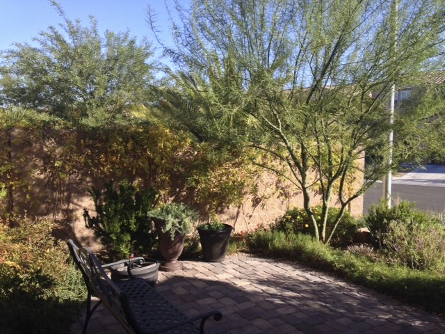 Front plantings create ample buffer