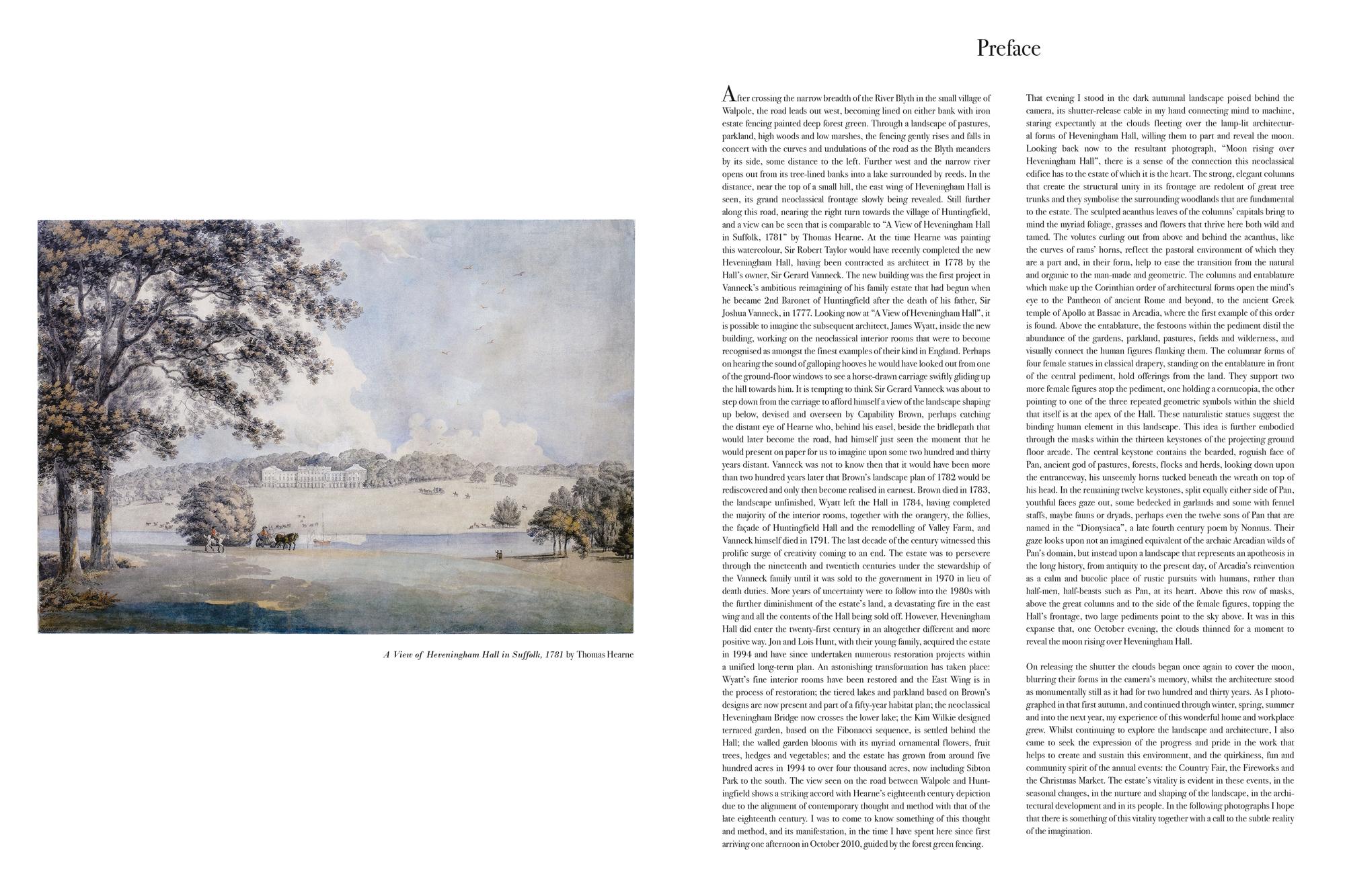 Heveningham Hall 2013 Preface
