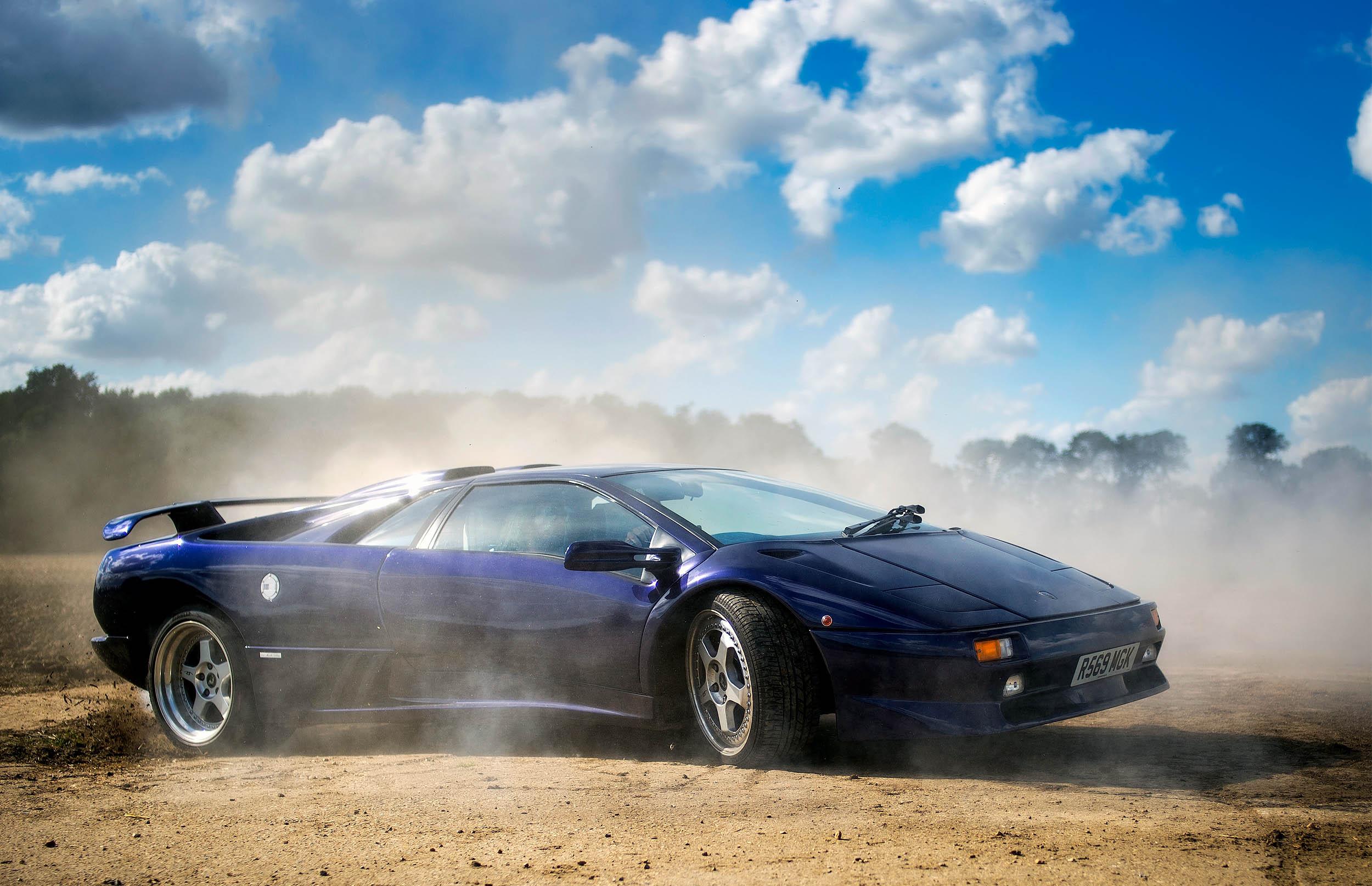 1997 Lamborghini Diablo SV Coupe