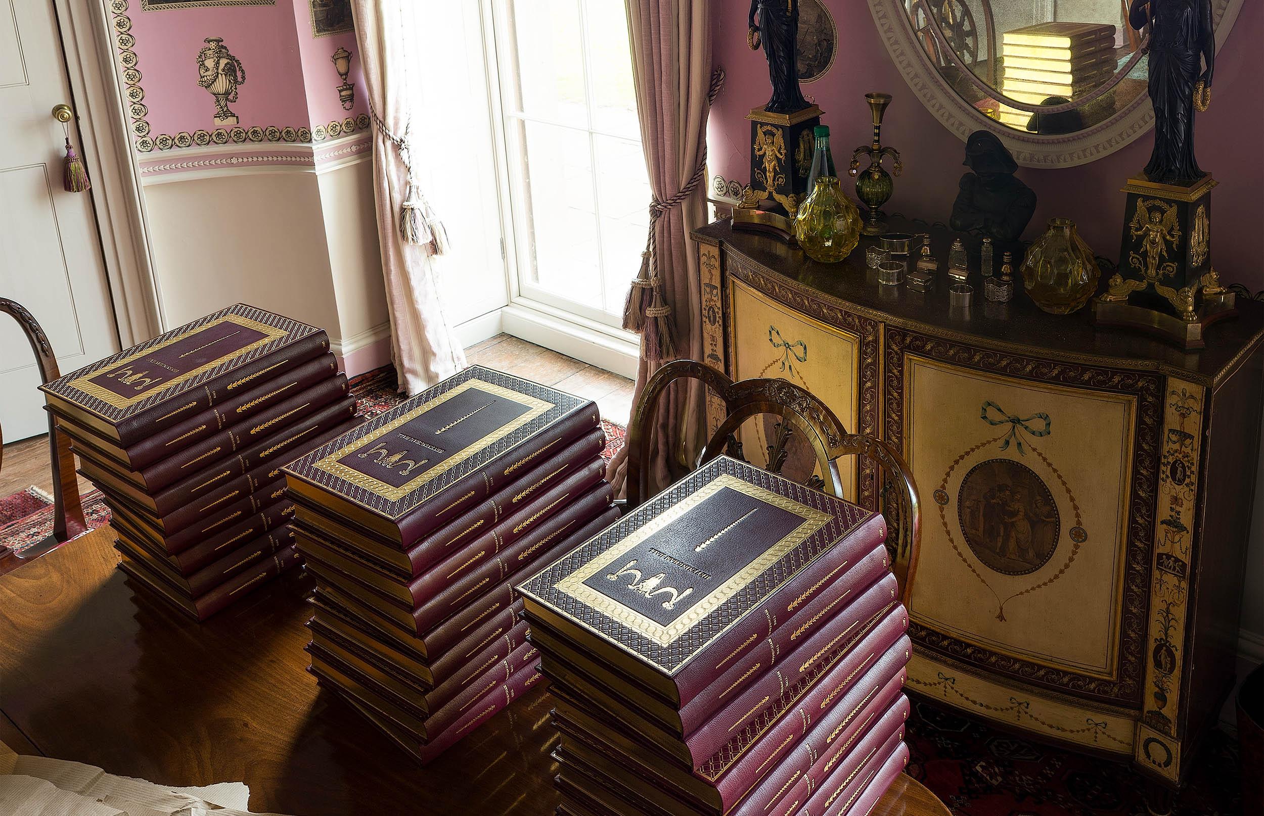 Heveningham Hall 2015, Edition of 28 Books