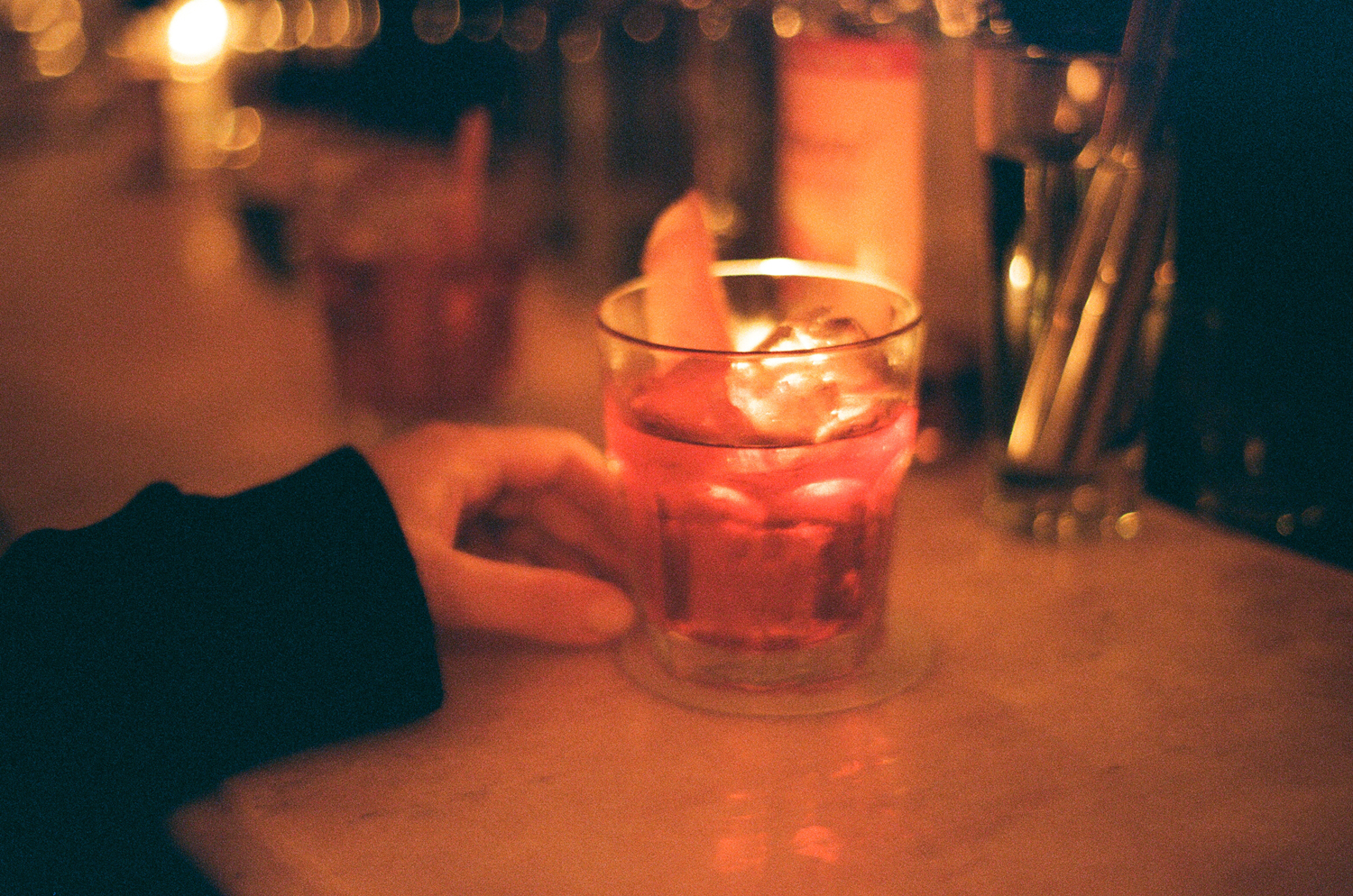 The perfect negroni at Maison Premiere.
