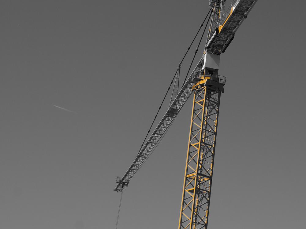 2011 Construction Crane. Berkeley, CA.