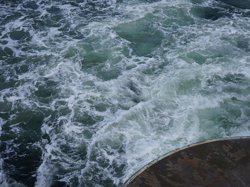 2012 Bainbridge Island Ferry. Bainbridge, WA.