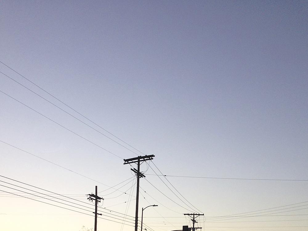 2015 Powerlines. Silver Lake, CA.