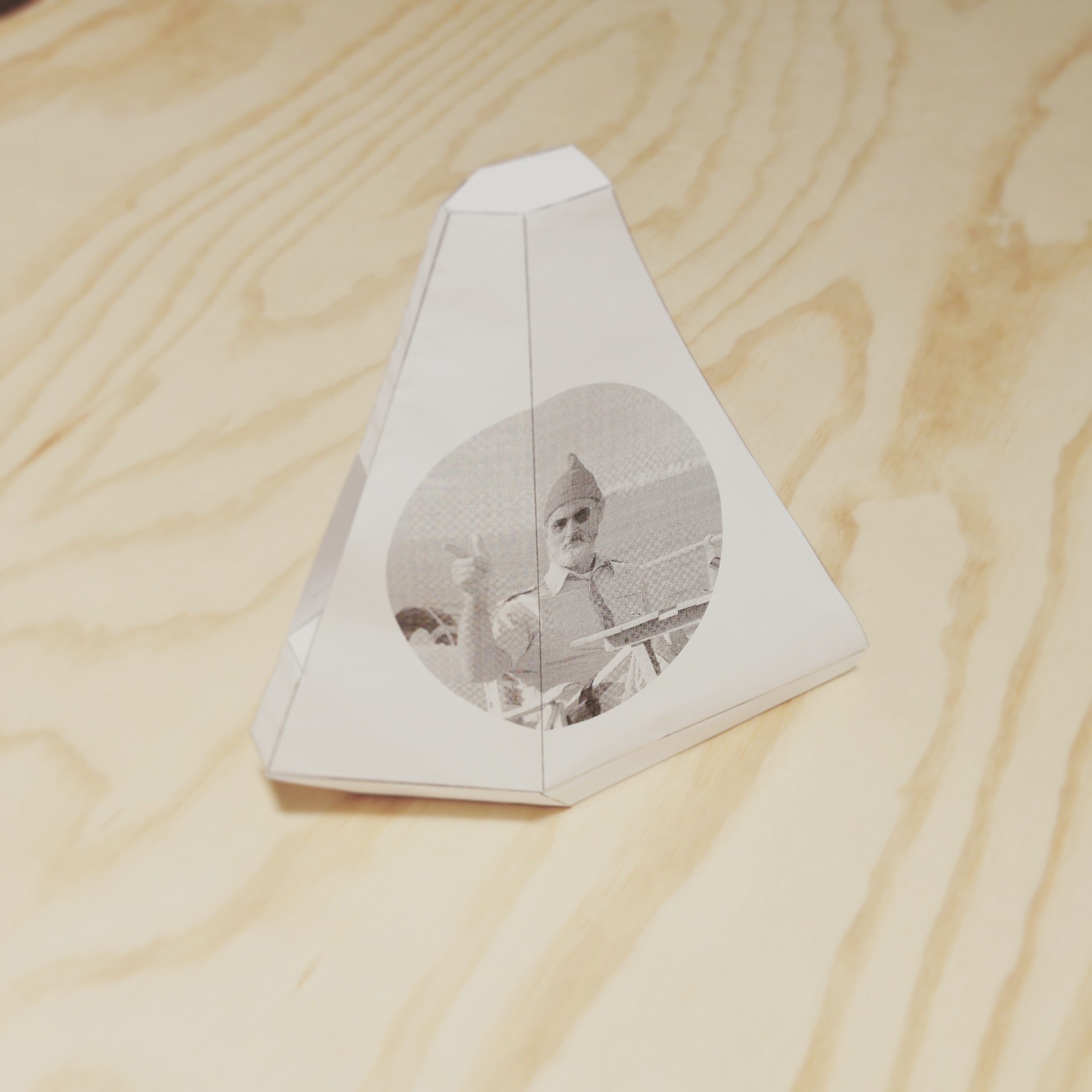 The Belafonte , paper boat entry #2.