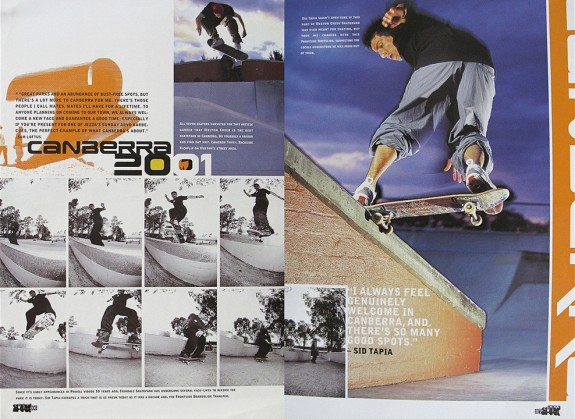Sid Tapia Canberra 2001