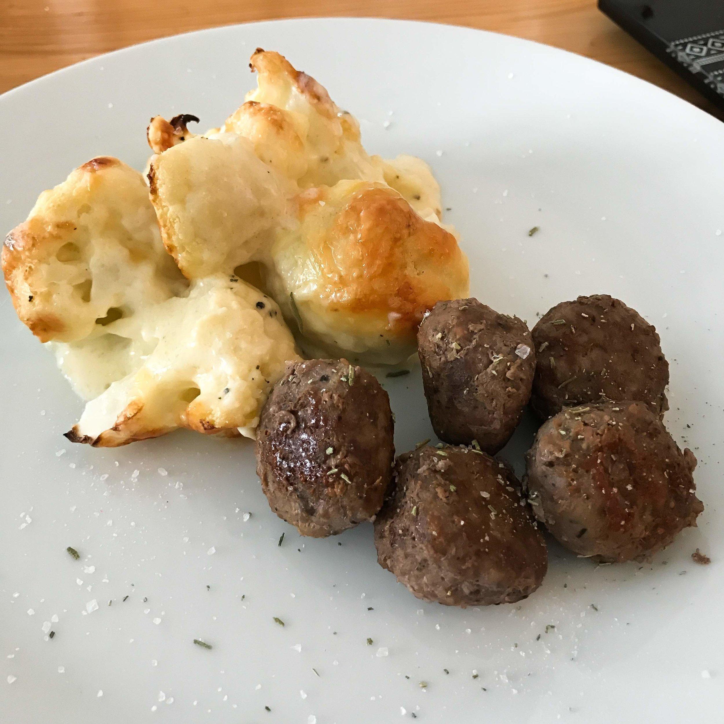 Veldig god til italienske kjøttboller også!