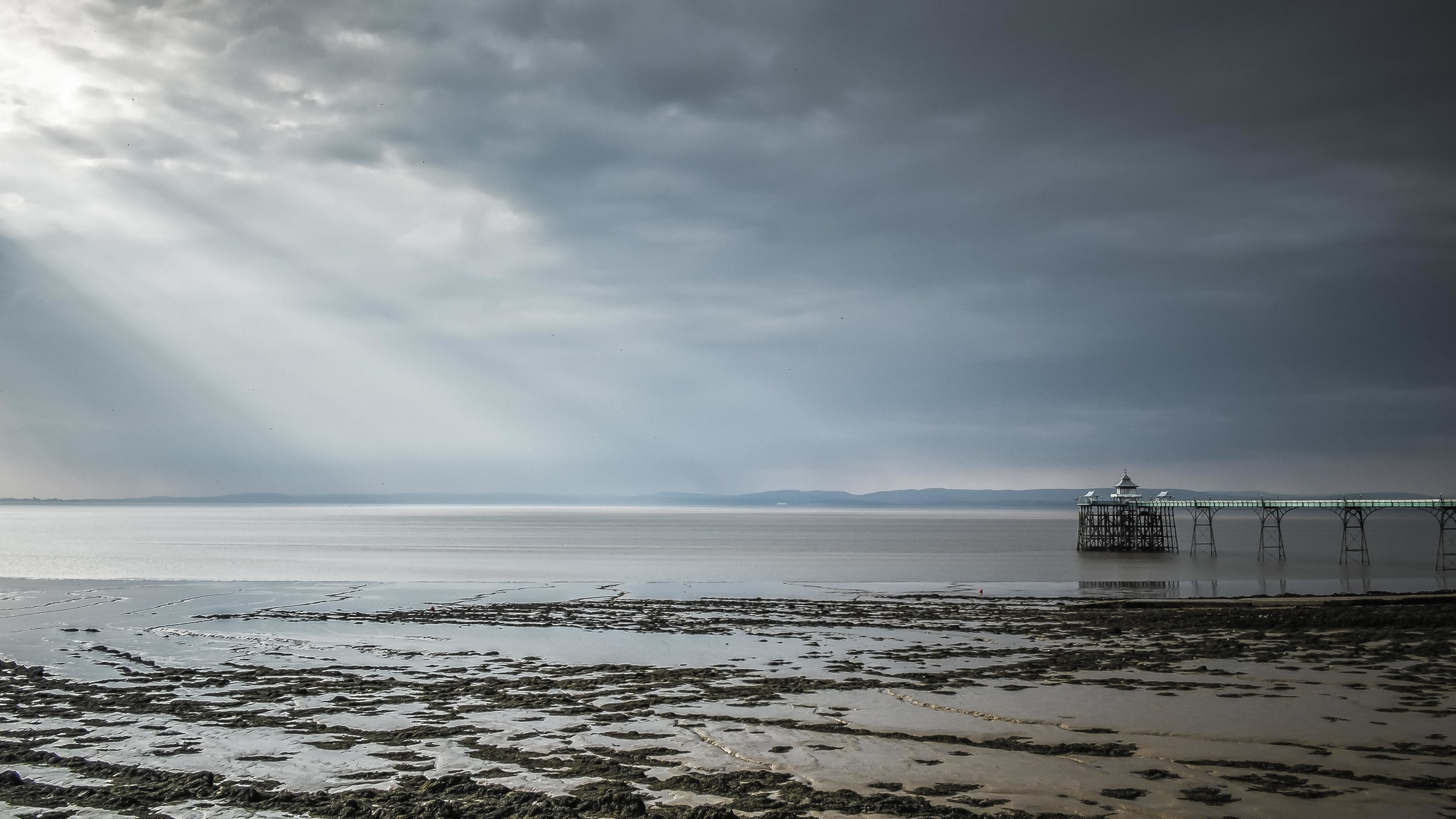 """Turquoise Light"" - Clevedon, England.  Fujifilm X-Pro1 + 18mm f/2 @ f/11. 1/200."