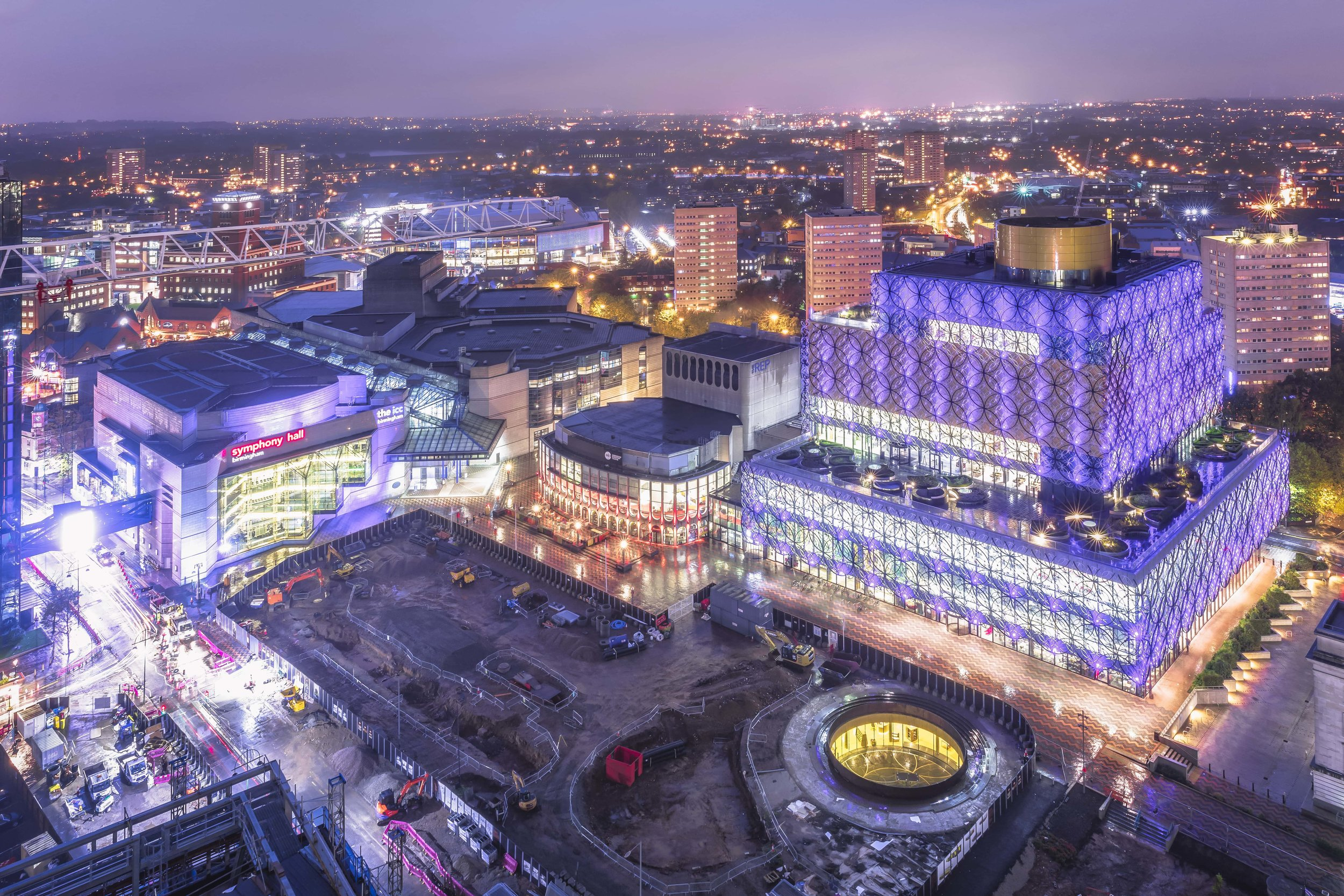 The Library of Birmingham and the redevelopment of Centenary Square