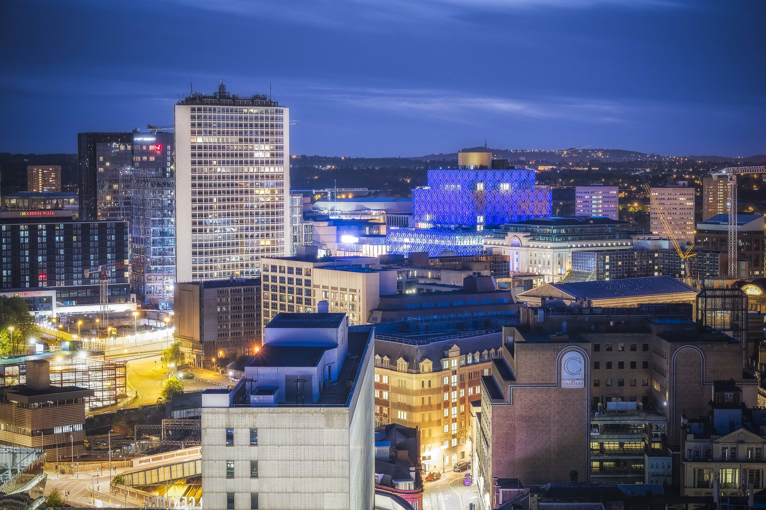 View over Brum from the Rotunda. Viewpoint courtesy of the lovely folk over at  Staying Cool .