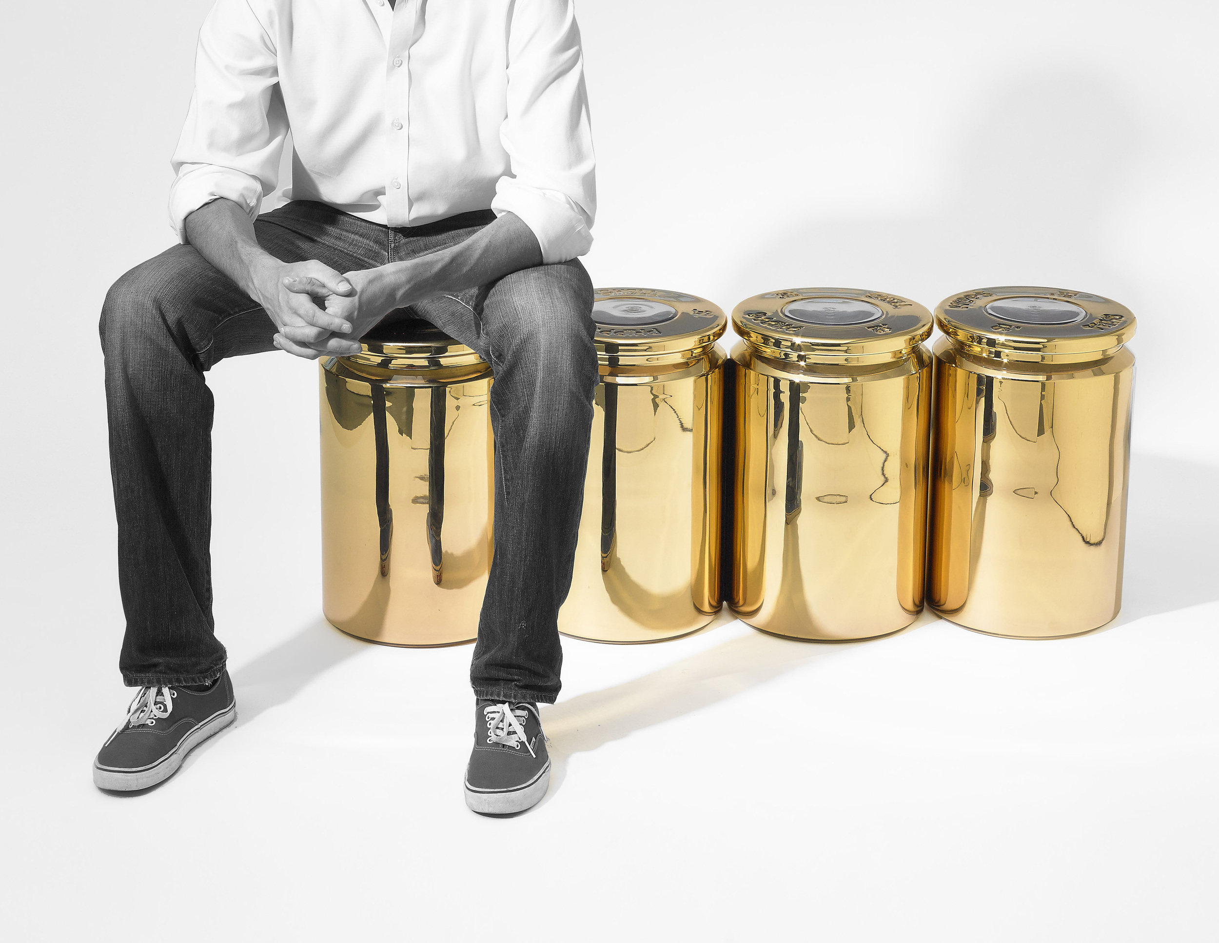 SHELL Stool by Jake Phipps