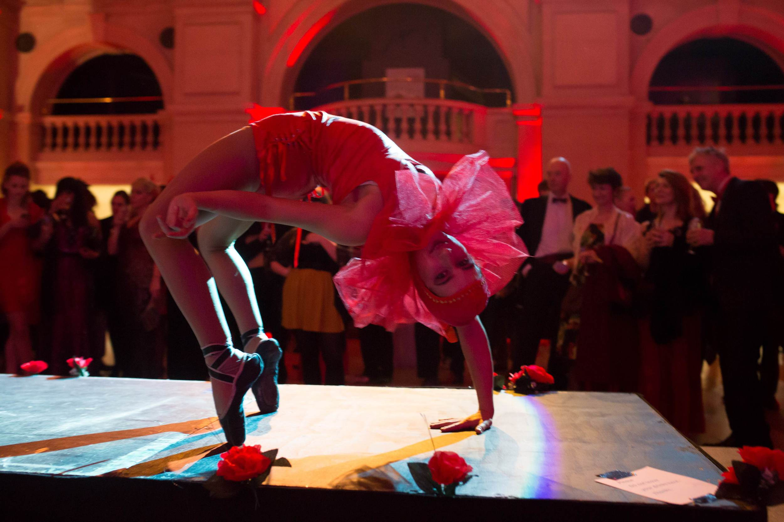 Keda Breeze for Bristol Museum - Acrobatics