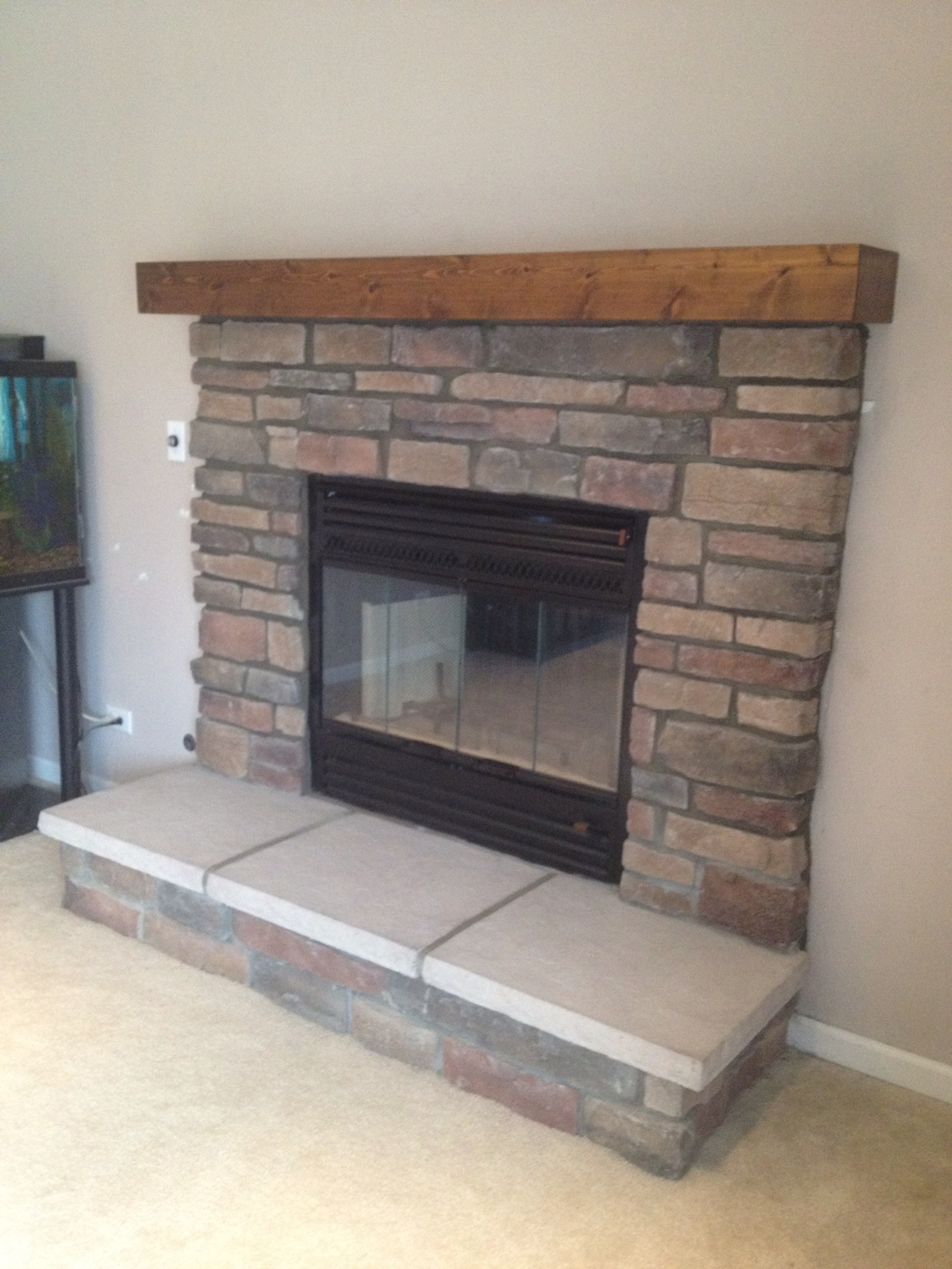 SC60 w/ Stone Work and Mantel