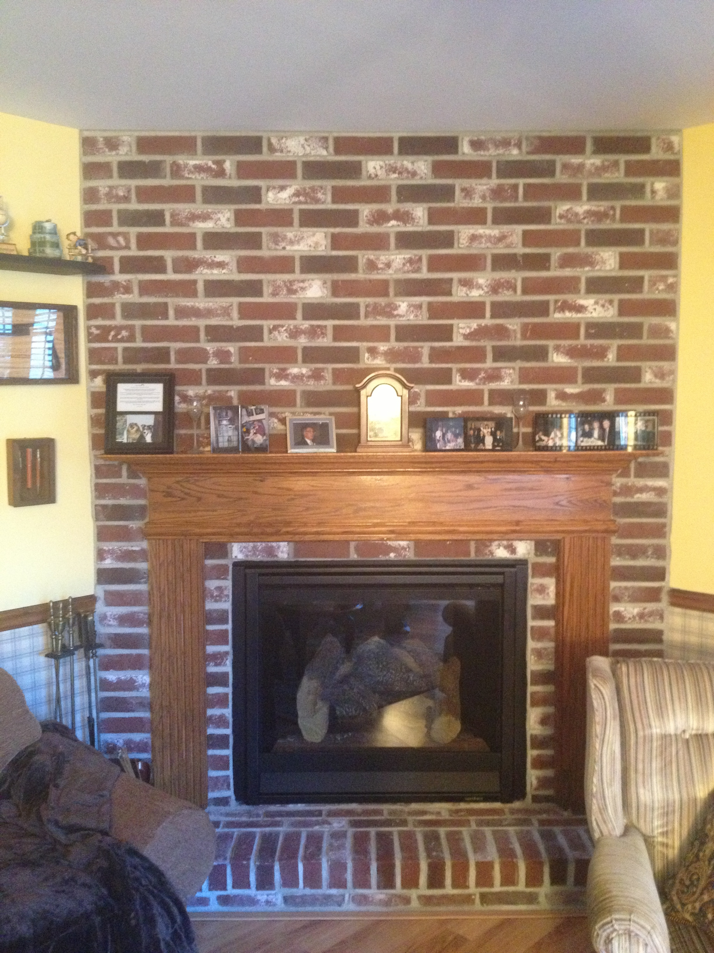 6000C w/ Brick Work and Mantel
