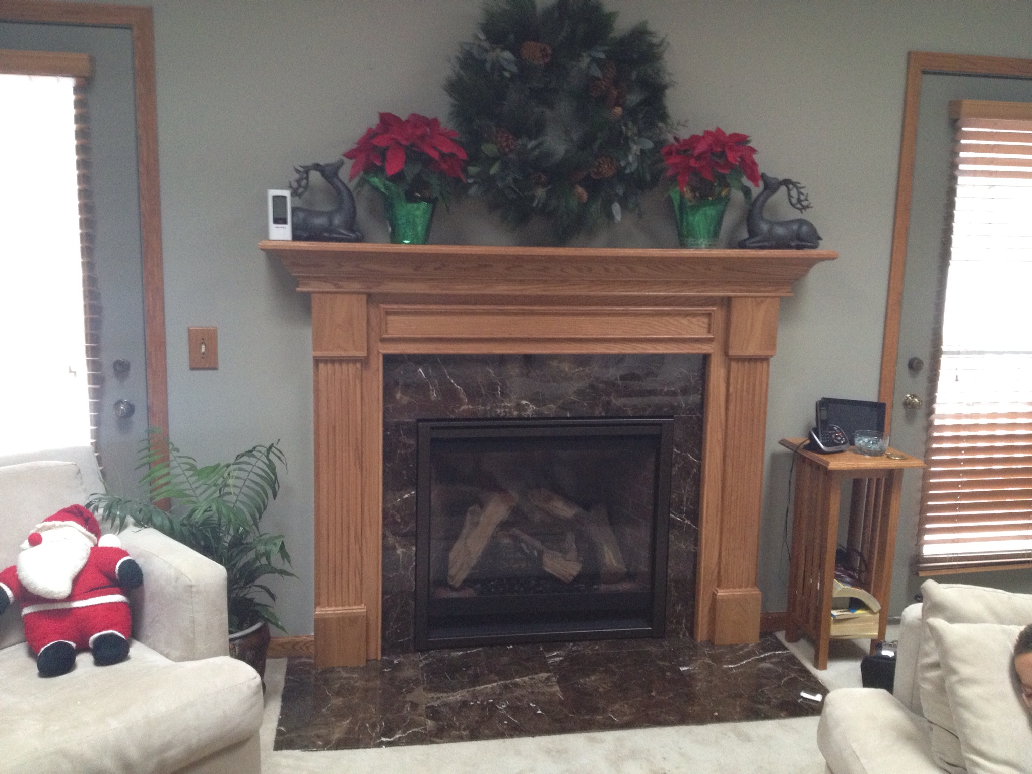 6000CLX w/ Marble and Mantel