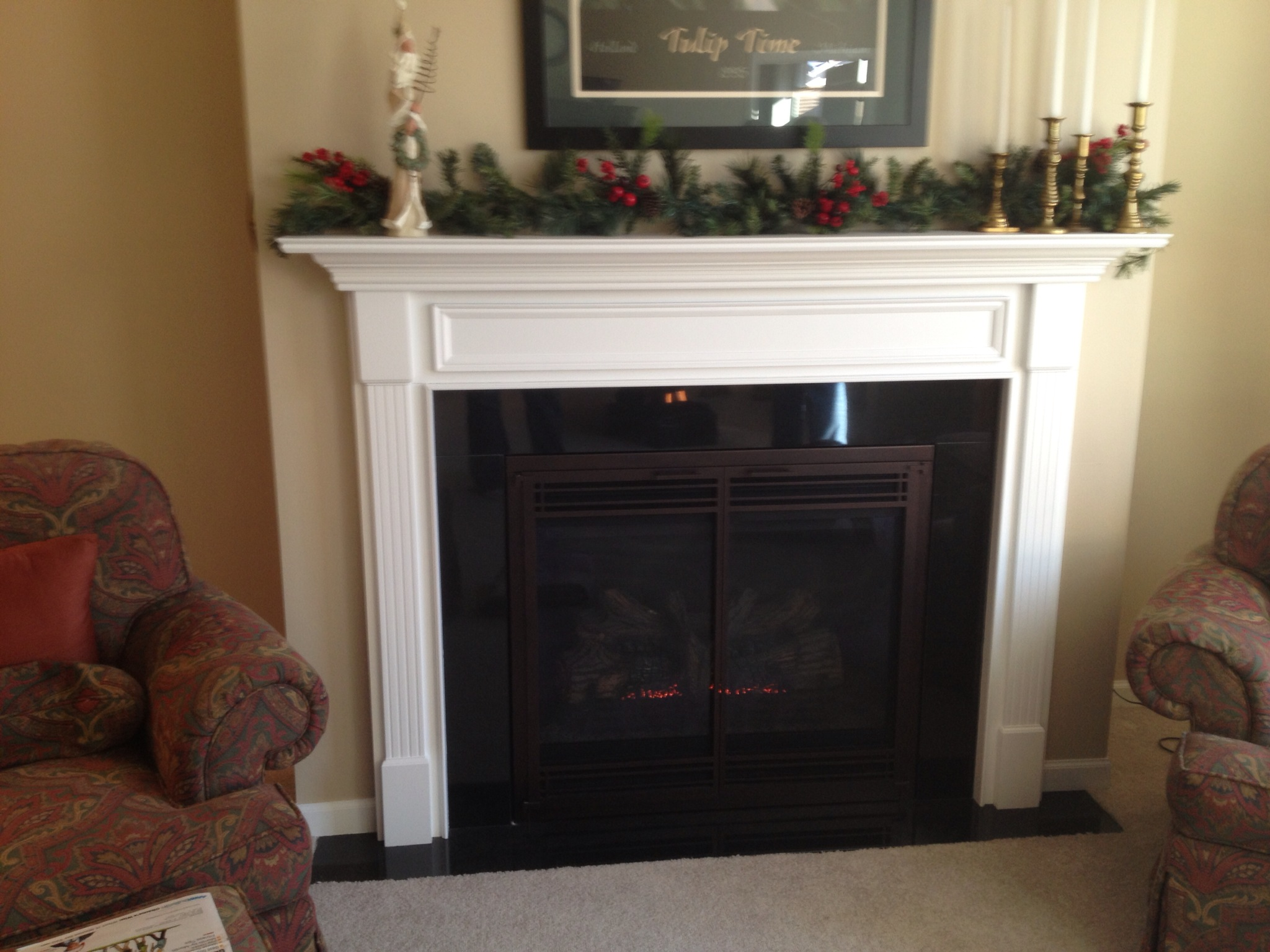DVB 36 w/ Granite and Mantel