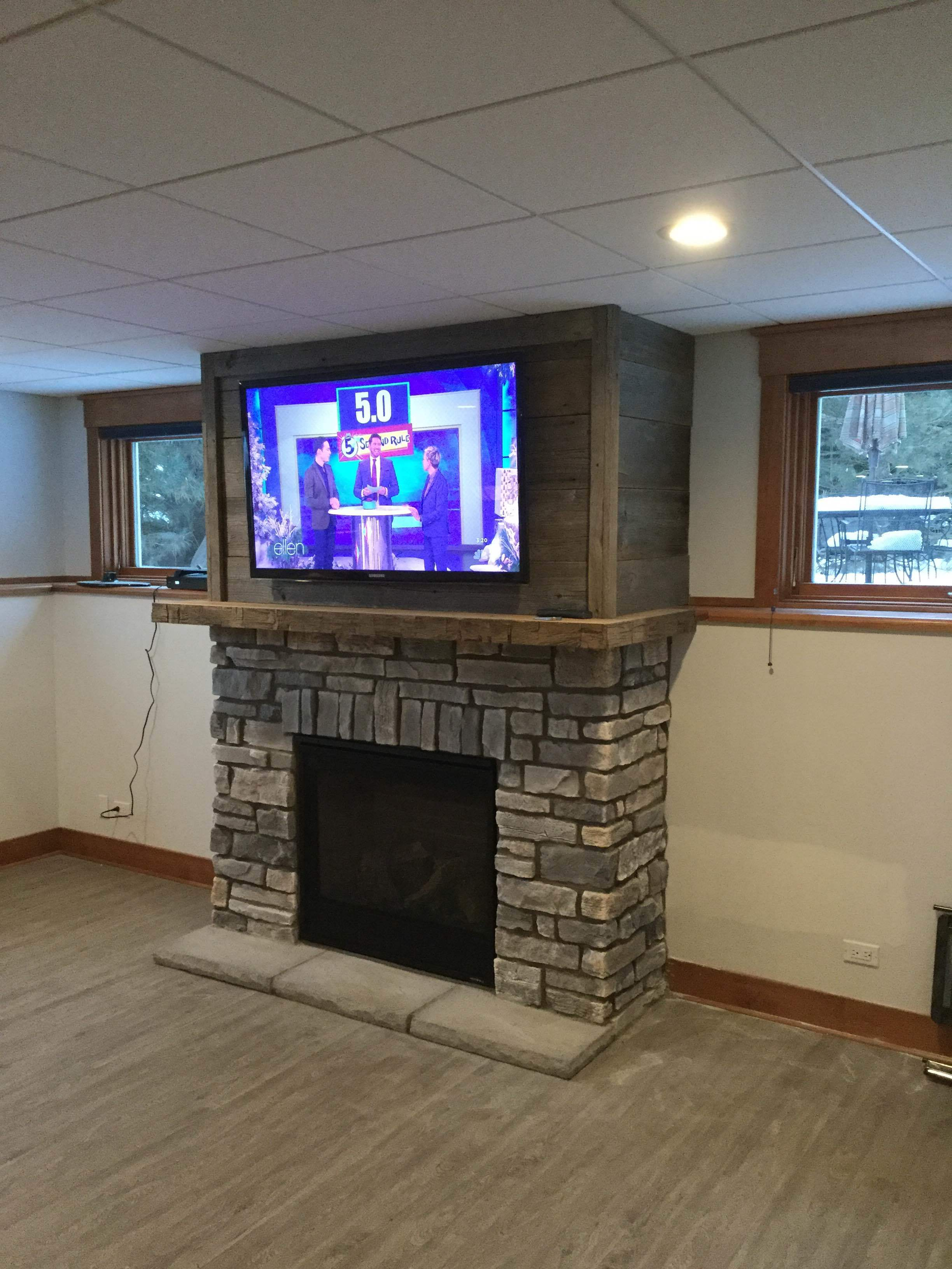 6000CLX with mantel