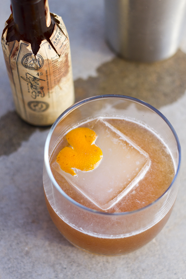 Silk Road Bourbon Cocktail