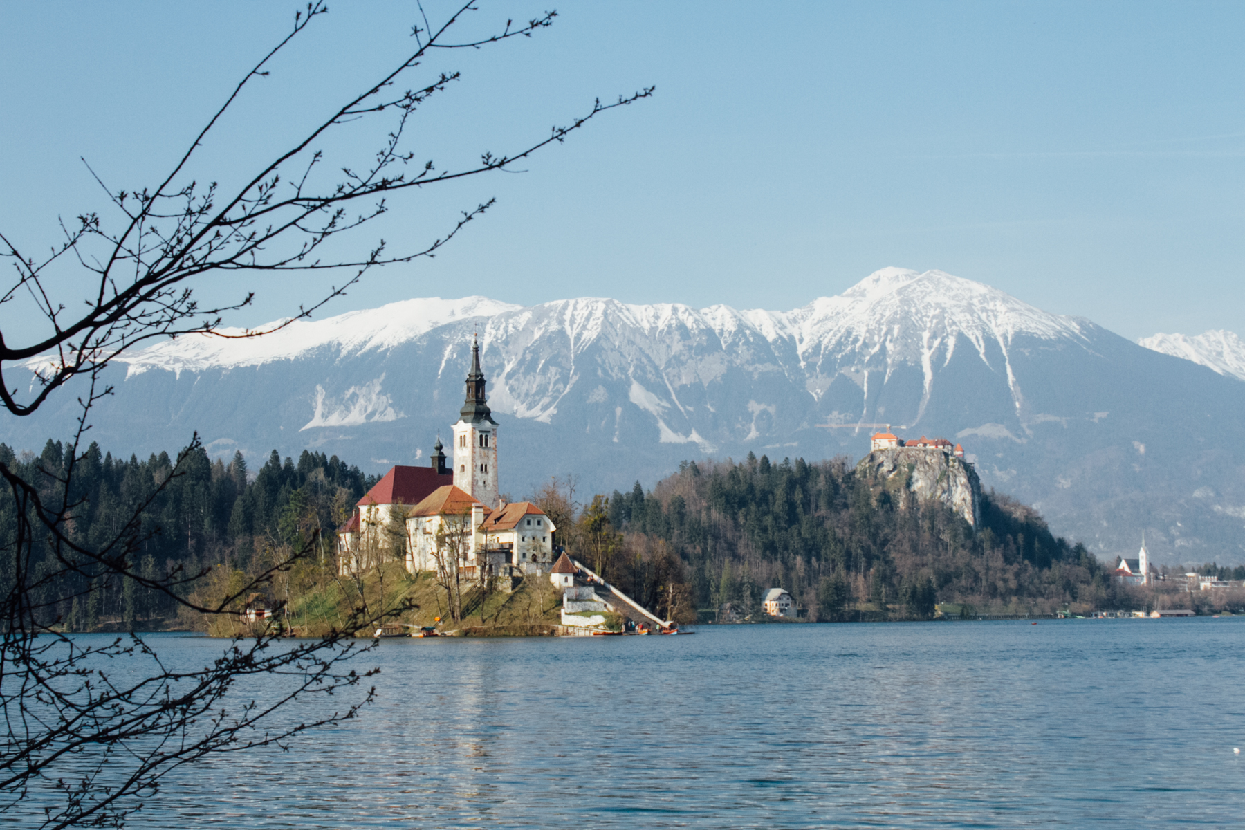 Lake Bled. Jacob would like you to know that he took this picture.